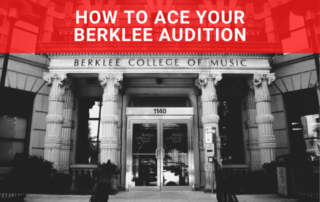 How To Ace Your Berklee Audition Blog Aleksi Godard