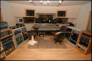 Wellspring Sound Studio Control Room